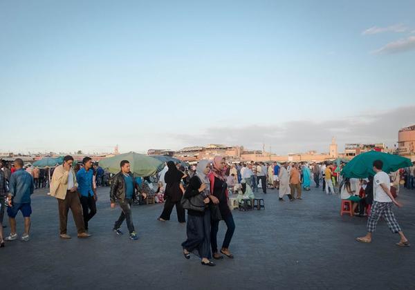Plaza D´ Jamaa el Fna.